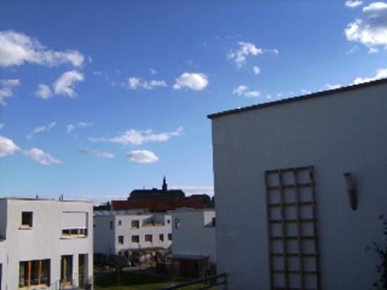 Bamberg Altstadt Dachterrasse
