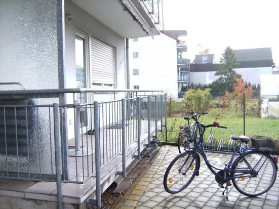 Bamberg Schildstrasse Balkon mit Bestuhlung