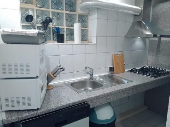 Essen Altendorf  Terrasse und Waschmaschine