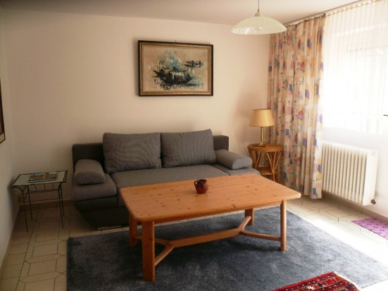 Ettlingen Waldbronn Moebilierte Wohnung