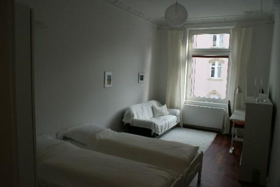 Frankfurt Nordend Doppelzimmer