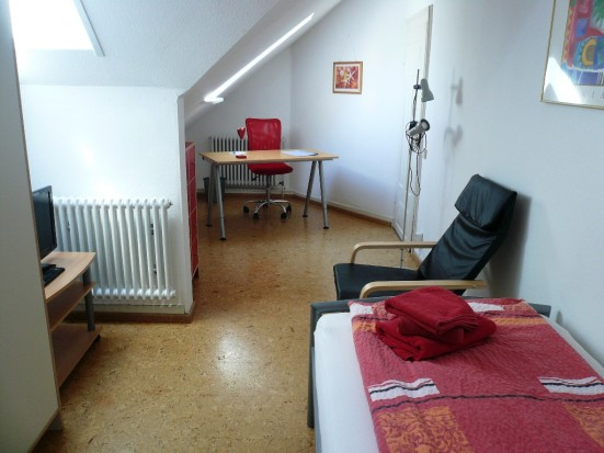 Karlsruhe West Nettes Einzelzimmer