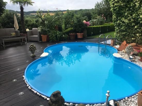 Wuerzburg Guentersleben Luxus  Ferienwohnung mit Pool