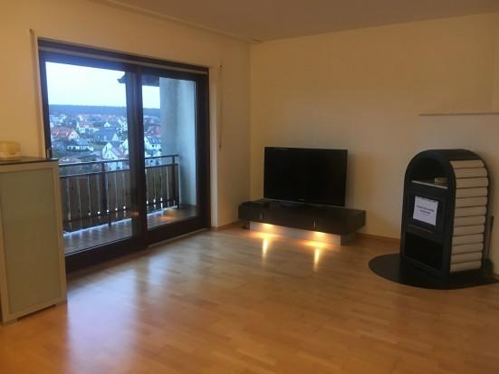 gehobene ferienwohnung mit eigenem balkon in w rzburg h chberg. Black Bedroom Furniture Sets. Home Design Ideas