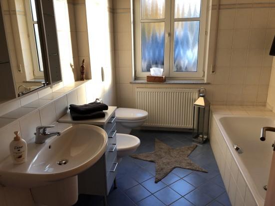 Wuerzburg Maedelhofen Ferienwohnung mit getrennten Betten fuer Monteure