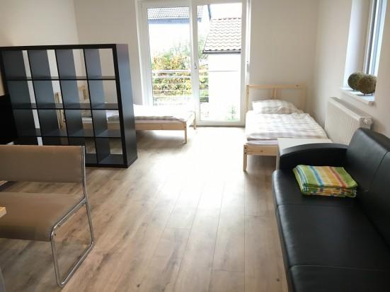 Wuerzburg Margetshoechheim Ferienwohnung mit getrennten Betten fuer Monteure