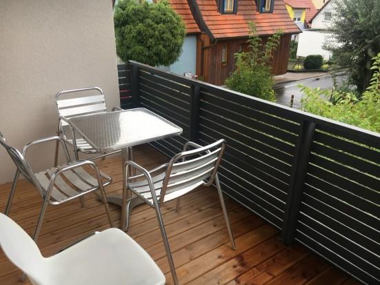 Wuerzburg Margetshoechheim Monteur Wohnung mit Terrasse