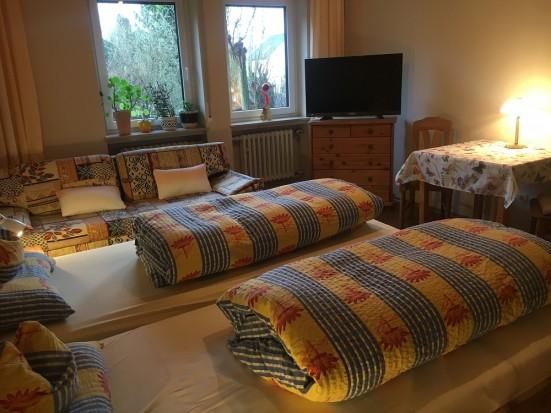 Wuerzburg Theilheim Unterkunft mit getrennten Betten