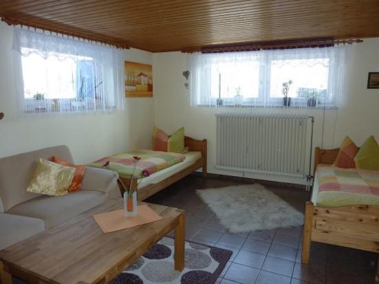 Wuerzburg Waldbrunn geraeumige 2 Zimmerwohnung